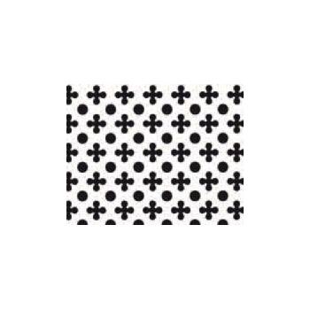 GRILLE POCHOIR TREFLE/ROND