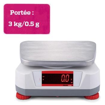 BALANCE COMPACTE - Portée maximale 3 kg-