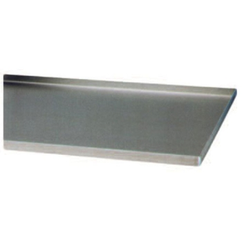 PLAQUE ALUMINIUM REBORDS DROITS