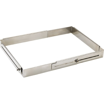 RECTANGLE INOX EXTENSIBLE