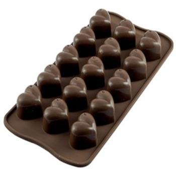 PLAQUE SILICONE POUR CHOCOLAT 1