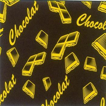 FEUILLE TRANSFERT POUR CHOCOLAT 19