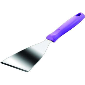 SPATULE TRIANGULAIRE INOX - Manche violet