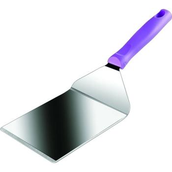 SPATULE RECTANGULAIRE XL INOX - Manche violet