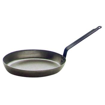 POELE A POISSON TOLE D ACIER