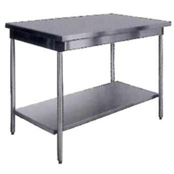TABLE INOX SANS DOSSERET