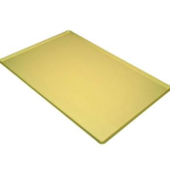 PLAQUE ALUMINIUM MAGASIN ANODISE OR