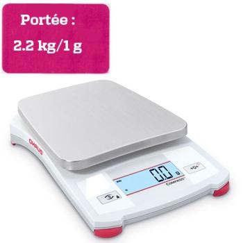 BALANCE PORTABLE COMPASS - Portée 2.2 kg