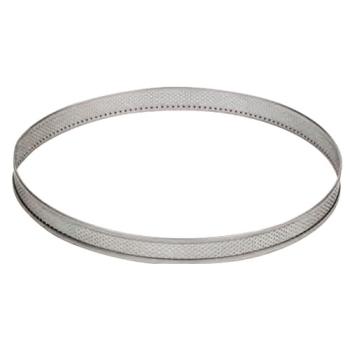CERCLE INOX PERFORE - Hauteur 35 mm
