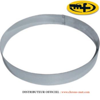 CERCLE INOX MOUSSE - Hauteur 45 mm