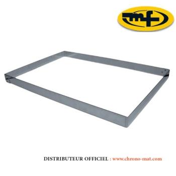 CADRE INOX PATISSIER - 570x370 mm