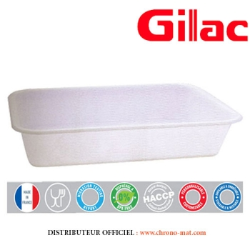 BAC A PATE - RECTANGULAIRE - 10 LITRES