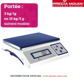BALANCE DE LABORATOIRE - Portée 3 ou 15 kg