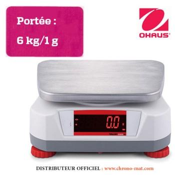 BALANCE DE LABORATOIRE COMPACTE - Portée 6 kg