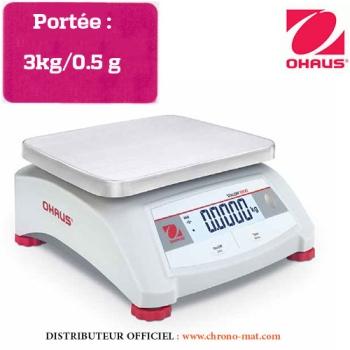 BALANCE COMPTOIR COMPACTE - Portée 3 kg