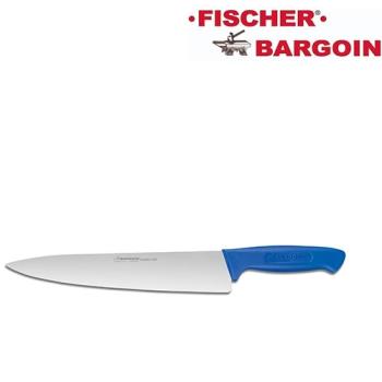 COUTEAU DE CHEF - Manche surmoulé bleu