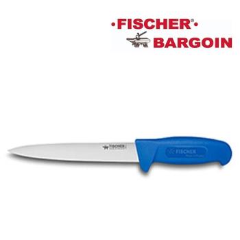 COUTEAU A DENERVER FLEXIBLE - 200 mm - Manche surmoulé bleu