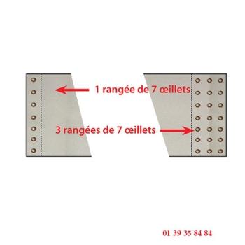 TOILE  ENFOURNEUR ZUCCHELLI - Pour élévateur ciseaux