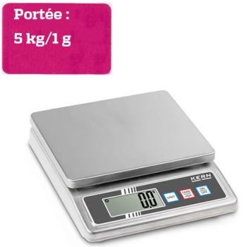 BALANCE  DE TABLE - Portée maximale 5 kg
